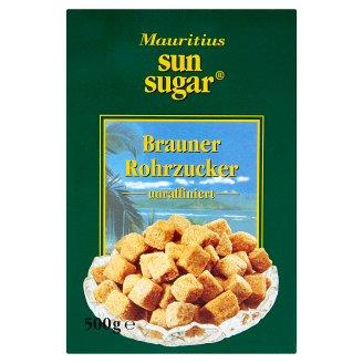 Sun Sugar hnědý třtinový kostkový cukr, nerafinovaný 500g
