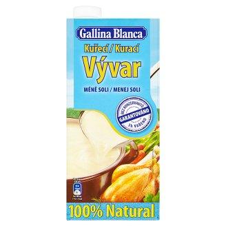 Gallina Blanca Kuřecí vývar se sníženým obsahem soli 1l