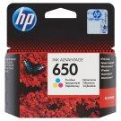 HP Inkoustová kazeta 650 tříbarevná