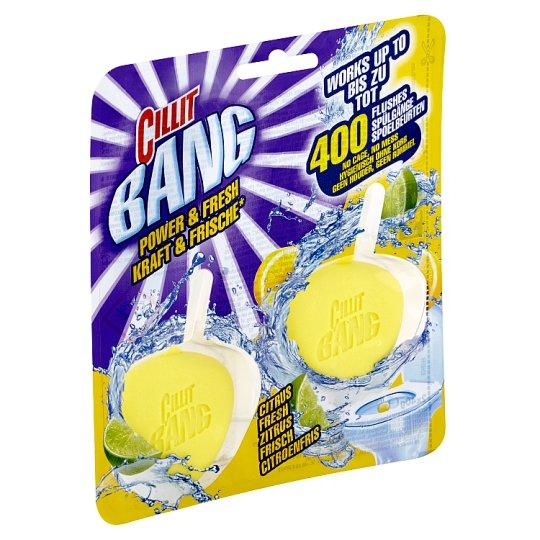 Cillit Bang Power & Fresh Fresh Summer Fruits tuhý WC blok 2 x 40g