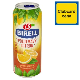Birell Polotmavý citrón nealkoholické pivo 0,5l