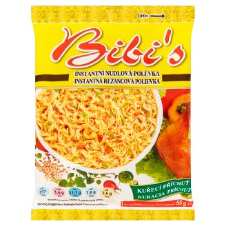 Bibi's Instant Noodle Soup Mix with Chicken Flavour 50g