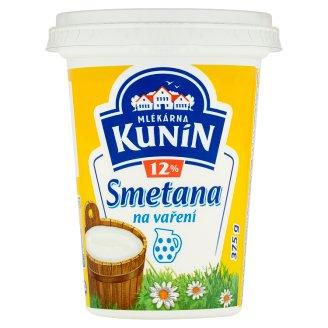 Mlékárna Kunín Smetana 12% 375g