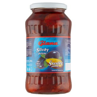 Giana Plums Halves in Syrup 680g