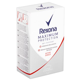 image 1 of Rexona Maximum Protection Active Shield Antiperspirant Cream 45ml