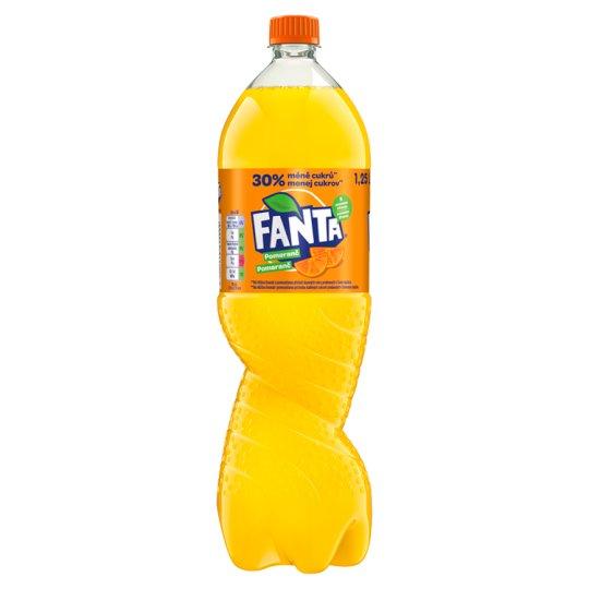 Fanta Pomeranč 1,25l