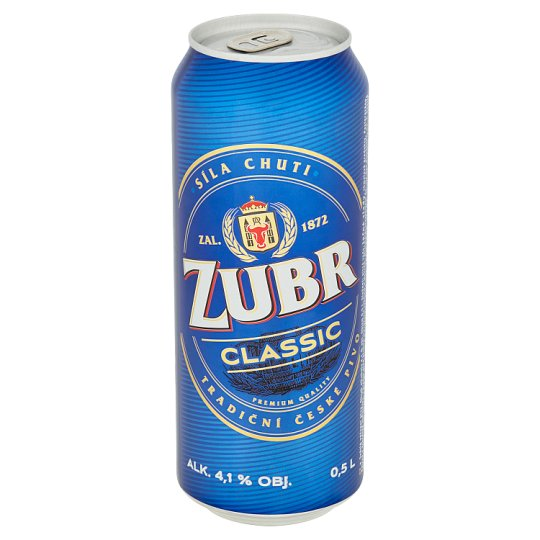 Zubr Classic Pale Beer 0.5L