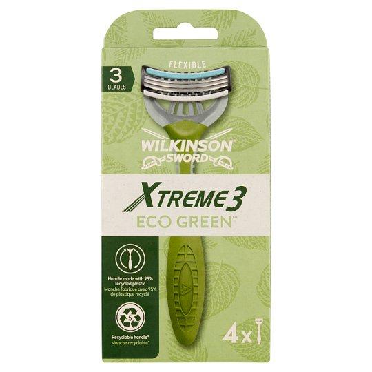 Wilkinson Sword Xtreme3 Eco-Green Disposable Razors 4 pcs