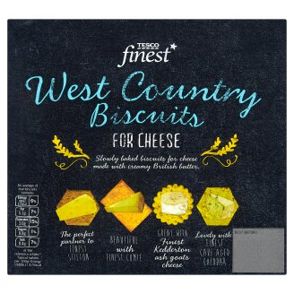 Tesco Finest West Country Biscuits for Cheese 300 g