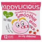 Kiddylicious eper-banán szájban olvadó smoothie 12 hónapos kortól 6 g