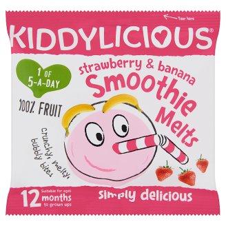 Kiddylicious Strawberry-Banana Smoothie Melts 12 Months+ 6 g