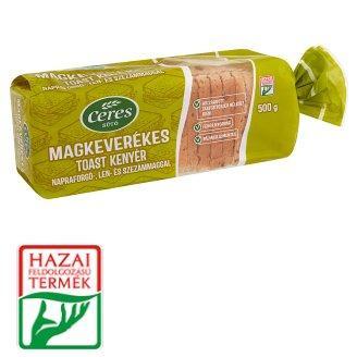Ceres Sütő Multi-Grain Toast Bread, Sunflower Seed, Linseed, Sesame Seed 500 g