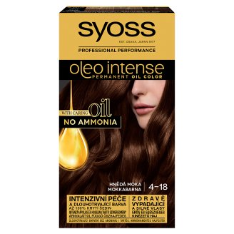Syoss Color Oleo Intense Oil Hair Colorant 4-18 Mocha Brown