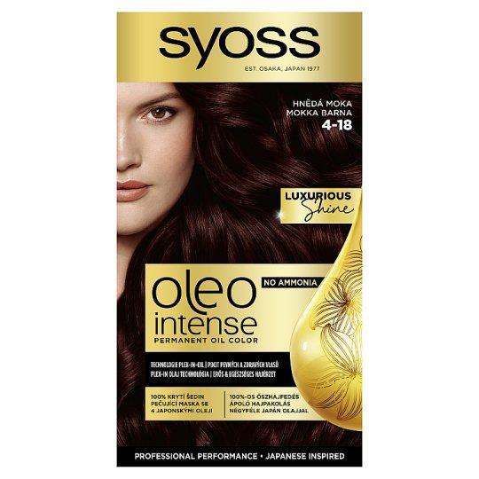 Syoss Color Oleo Intense Oil Hair Colorant 4-18 Mocha Brown