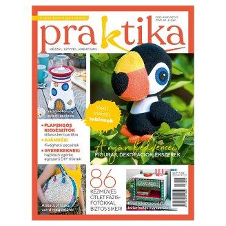 Praktika havonta megjelenő szabadidő hasznos eltöltésével foglalkozó magazin