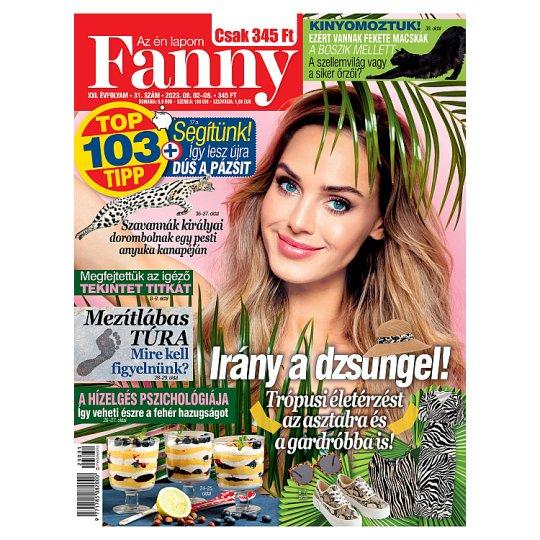 Fanny hetente megjelenő női magazin