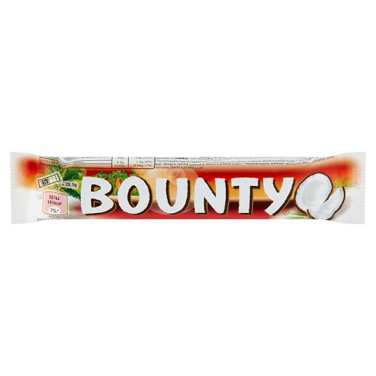 Bounty Coconut Bars Coated in Dark Chocolate 2 pcs 57 g