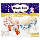 Häagen-Dazs Frozen Yoghurt Collection 4 x 100 g