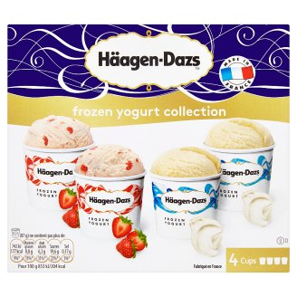 Häagen-Dazs Frozen Yoghurt Collection 4 x 100 g