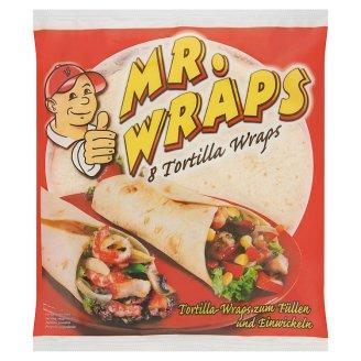 Mr. Wraps búzatortilla lapok 8 db 340 g
