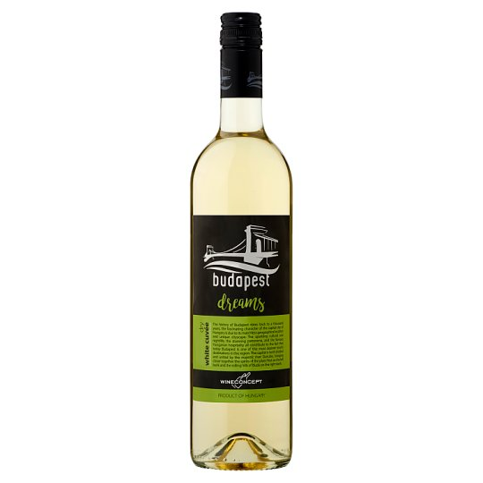 Wine Concept Budapest Dreams Hungarian White Dry Cuvée 11,5% 0,75 l