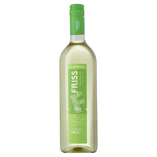 Laposa Friss Balatoni Olaszrizling száraz fehérbor 11,5% 75 cl