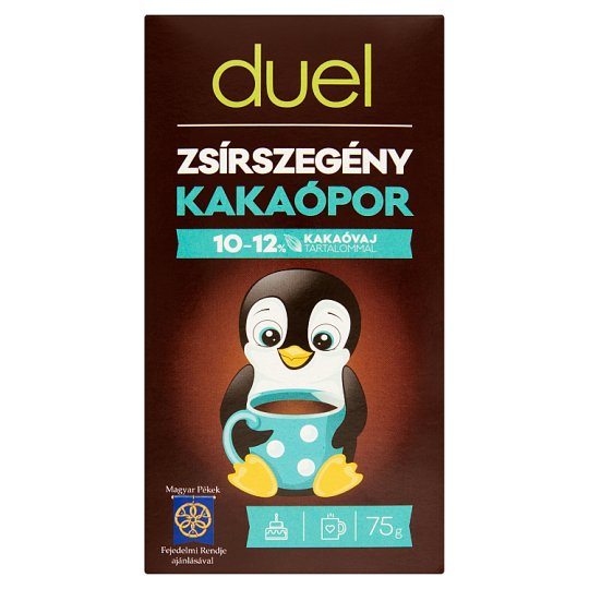 Duel Low-Fat Cocoa Powder 75 g