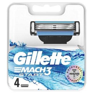 Gillette Mach3 Start Borotvabetét Férfi Borotvához, 4 db