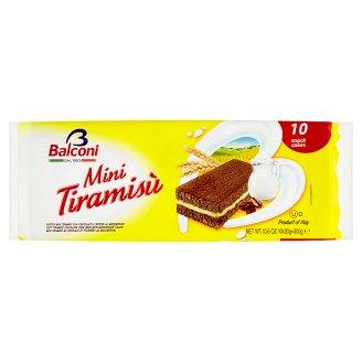 Balconi Mini Tiramisu Cake Bars with Mascarpone Filling 300 g