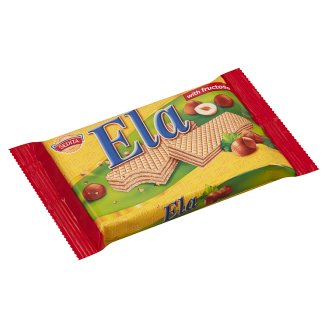 Ela Hazelnut Flavoured Cream Filled Wafer with Fructose 40 g