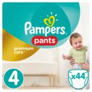 Pampers Pants Premium Care Size 4, 44 Nappies, 8-14kg