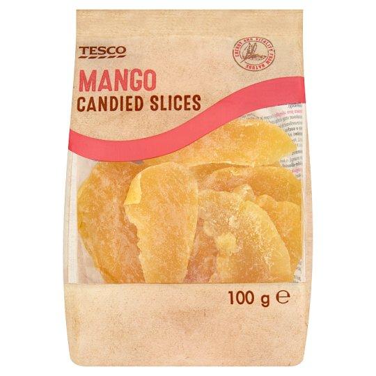 Tesco Candied Mango Slices 100 g