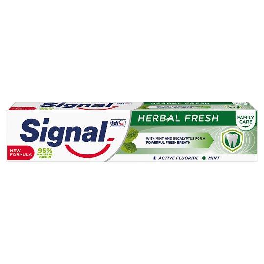 Signal Family Herbal Fresh Toothpaste 75 ml