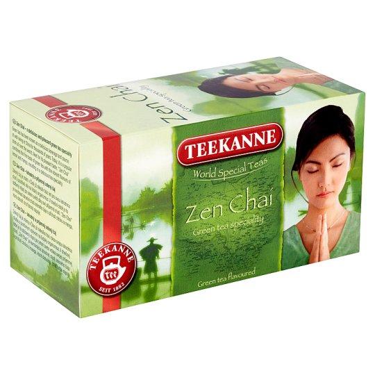 Teekanne Zen Chai Flavoured Green Tea with The Tase of Lemon and Mango 20 Tea Bags 35 g