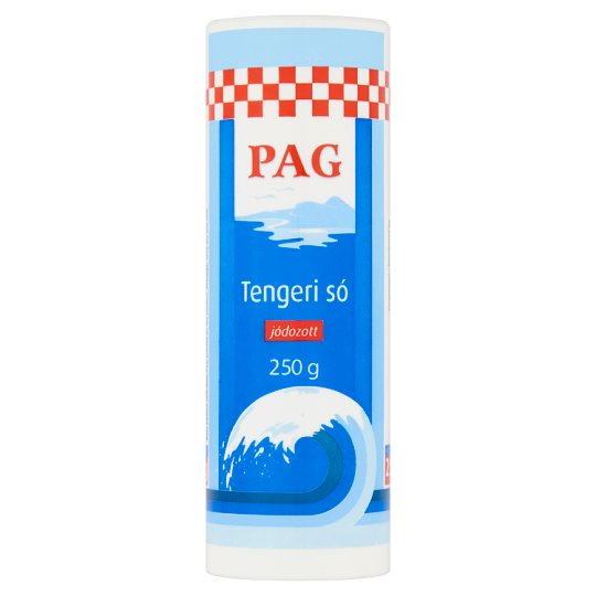 Pag Iodized Sea Salt 250 g