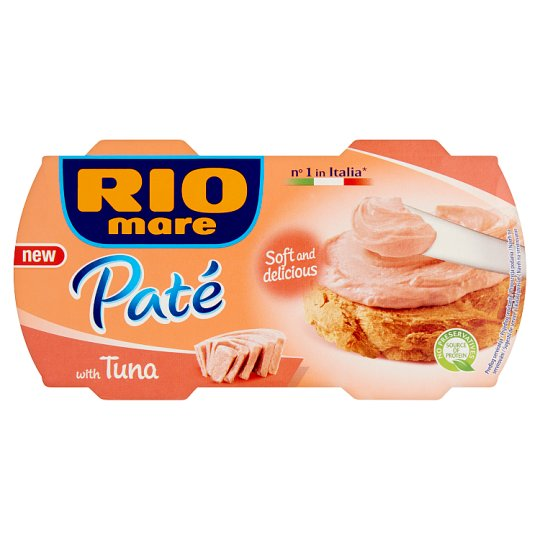 Rio Mare Paté with Tuna 2 x 84 g