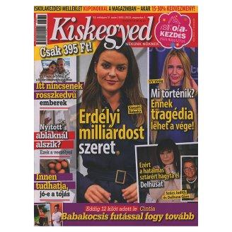 Kiskegyed hetente megjelenő női magazin