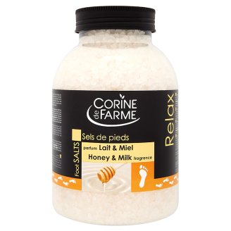 Corine de Farme Foot Salts with Honey & Milk Fragrance 1,3 kg