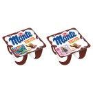 Zott Monte Maxi Chocolate, Peanut Milk Dessert 4 x 100 g