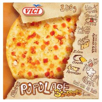 Vici Pizza Popolare Quick-Frozen Pizza with Three Cheese 300 g