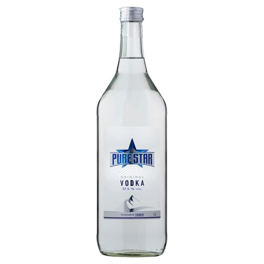 Pure Star vodka 37,5% 1 l