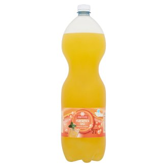 Jégkristály narancs ízű szénsavas üdítőital cukorral és édesítőszerekkel 2 l