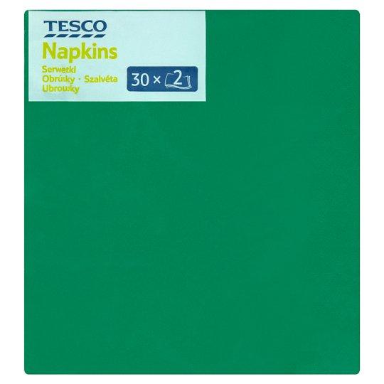 Tesco szalvéta 2 rétegű 33 cm 30 db