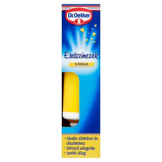 Dr. Oetker Yellow Food Coloring 10 g