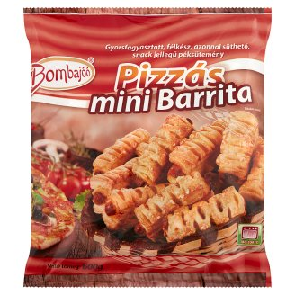 Bombajóó Mini Barrita Quick-Frozen Rod Filled with Pizza Cream 600 g