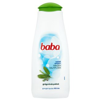 Baba Family Shampoo for All Types of Hair with Herbs 400 ml