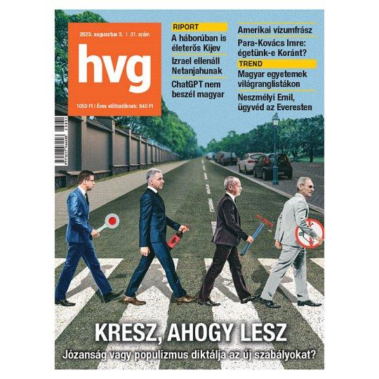 Heti Világgazdaság hetente megjelenő gazdasági, politikai, társadalmi kérdésekkel foglalkozó magazin