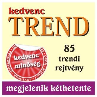 Kedvenc Trend kéthetente megjelenő keresztrejtvényeket tartalmazó magazin