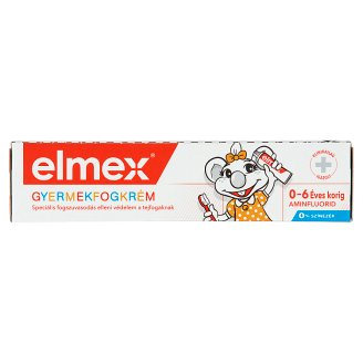 elmex Toothpaste for Children 0-6 Years 50 ml