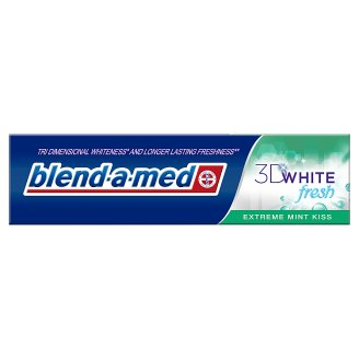 Blend-A-Med 3D White Fresh Extreme Mint Kiss fogkrém 100 ml